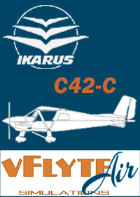 VFLYTEAIR SIMULATIONS INC - IKARUS C42C 轻型双座教练机 X-PLANE 11