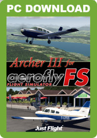 JUSTFLIGHT - ARCHER III FOR AEROFLYFS (PC) (DOWNLOAD)
