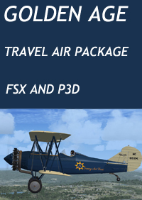 GOLDEN AGE - TRAVEL AIR PACKAGE - FSX AND P3D