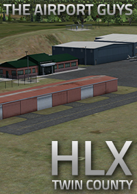 THE AIRPORT GUYS - TWIN COUNTY AIRPORT AIRPORT KHLX FSX P3D