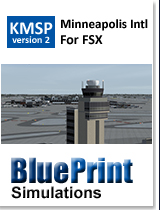 BLUEPRINT - KMSP MINNEAPOLIS - ST PAUL INTL V2 FSX