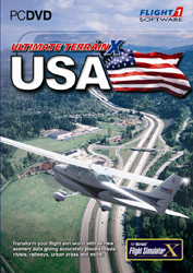 FLIGHT 1 - ULTIMATE TERRAIN X - USA VERSION 2 FSX P3D (DOWNLOAD)