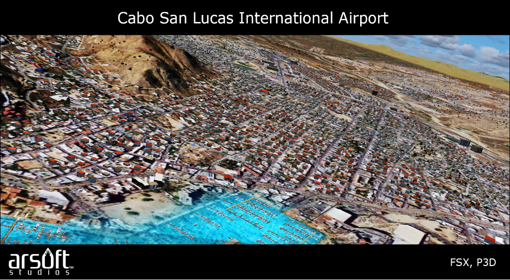 ARSOFT STUDIOS - CABO SAN LUCAS INTERNATIONAL AIRPORT FSX P3D