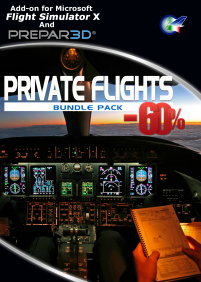 PERFECT FLIGHT - PRIVATE FLIGHTS SUPER BUNDLE FSX P3D