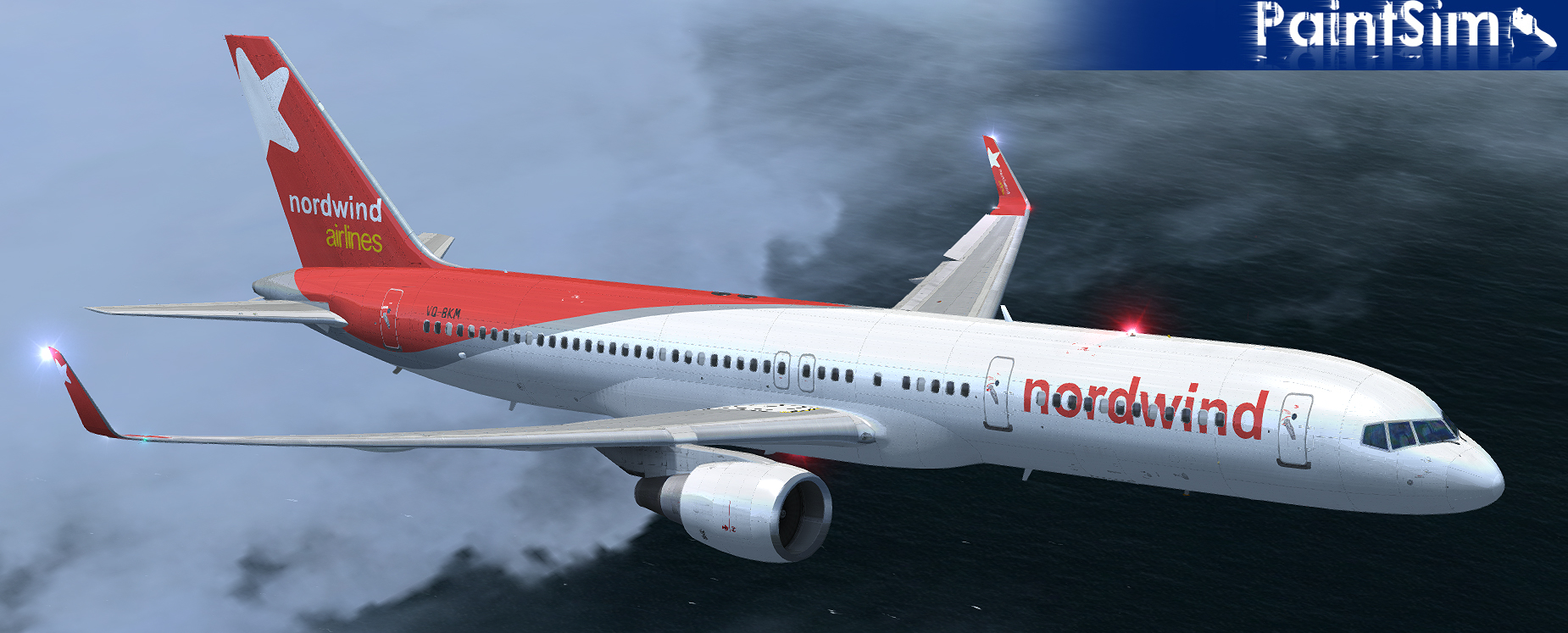 PAINTSIM - UHD TEXTURE PACK 9 FOR CAPTAIN SIM BOEING 757-200 III FSX P3D