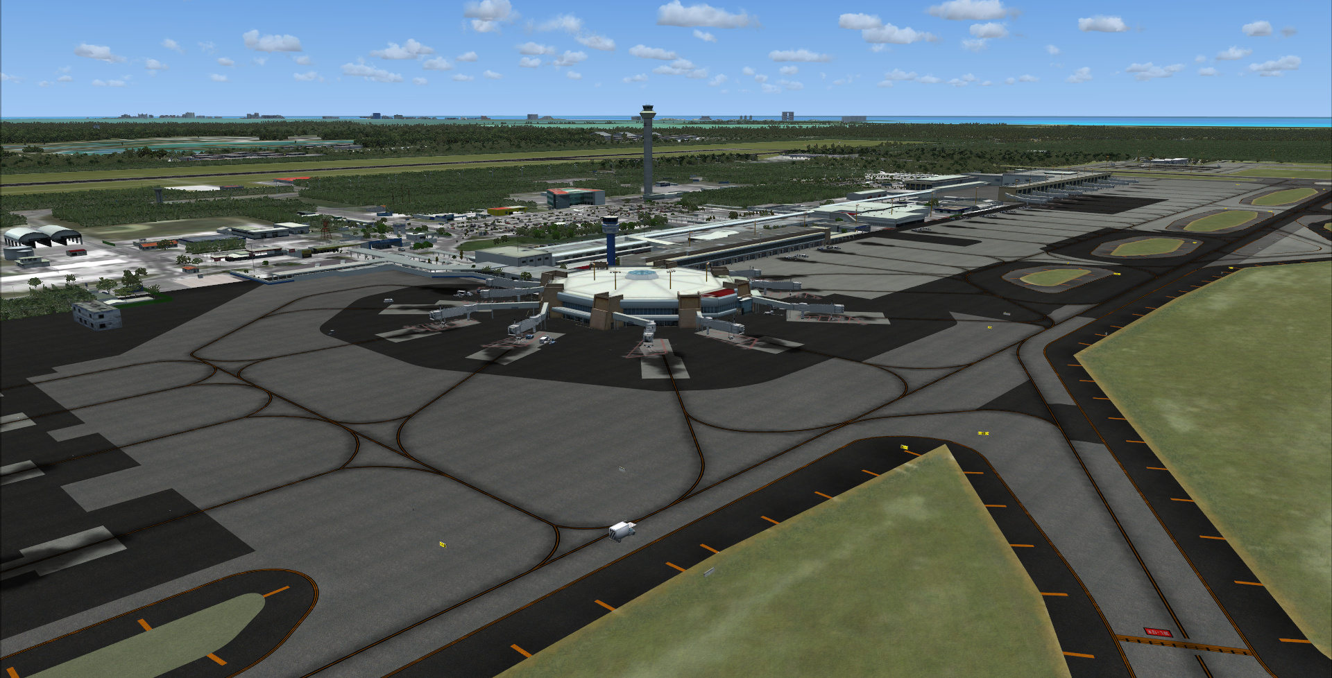 KINGS SCENERIES - CANCUN AND RIVIERA MAYA MEXICO MEGA SCENERY FSX