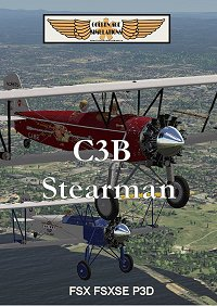 GOLDEN AGE SIMULATIONS - C3B STEARMAN FOR FSX FSXSE P3D