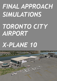 FINAL APPROACH SIMULATIONS- TORONTO CITY AIRPORT FOR X-PLANE 10