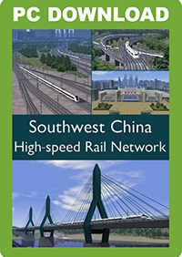 JUSTTRAINS -  SW CHINA HIGH SPEED RAIL NETWORK
