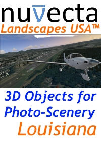 NUVECTA - LANDSCAPES USA™ LOUISIANA FSX P3D