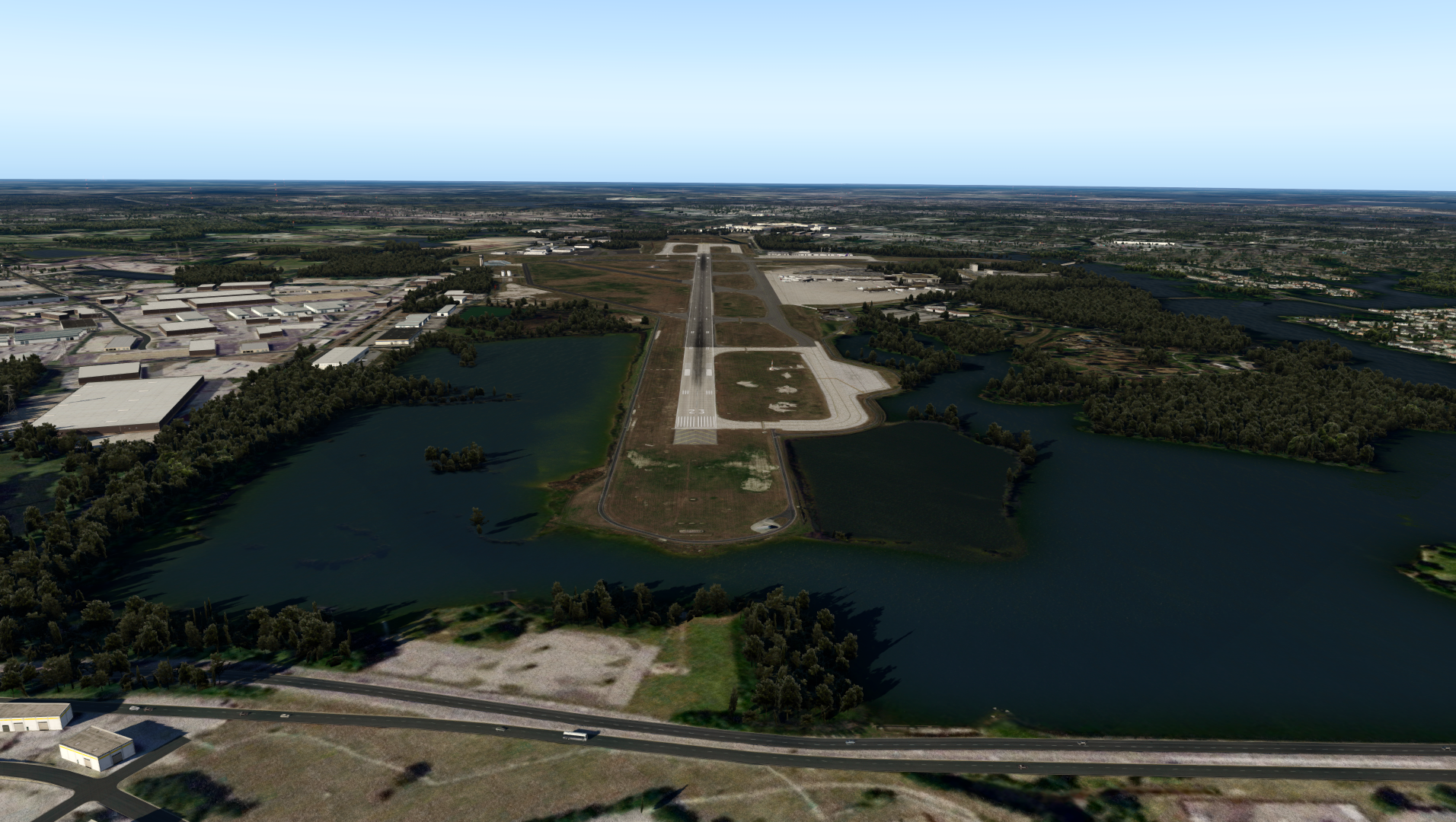 VERTICAL SIMULATIONS - KORF - NORFOLK INTERNATIONAL AIRPORT