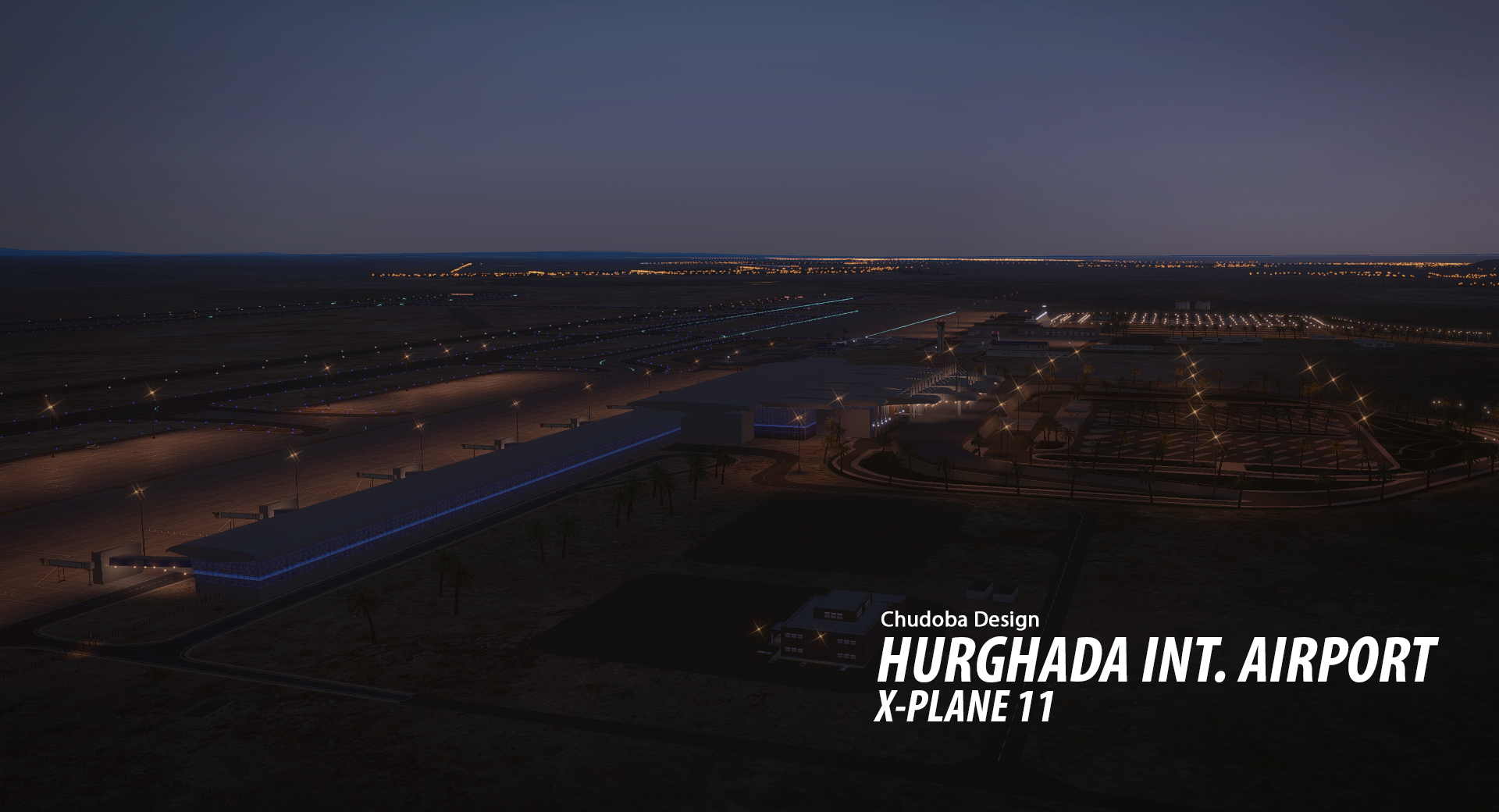 CHUDOBA DESIGN - HURGHADA INTERNATIONAL AIRPORT (HEGN) FOR X-PLANE 11