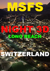 TABURET - NIGHT 3D SWITZERLAND V2 MSFS