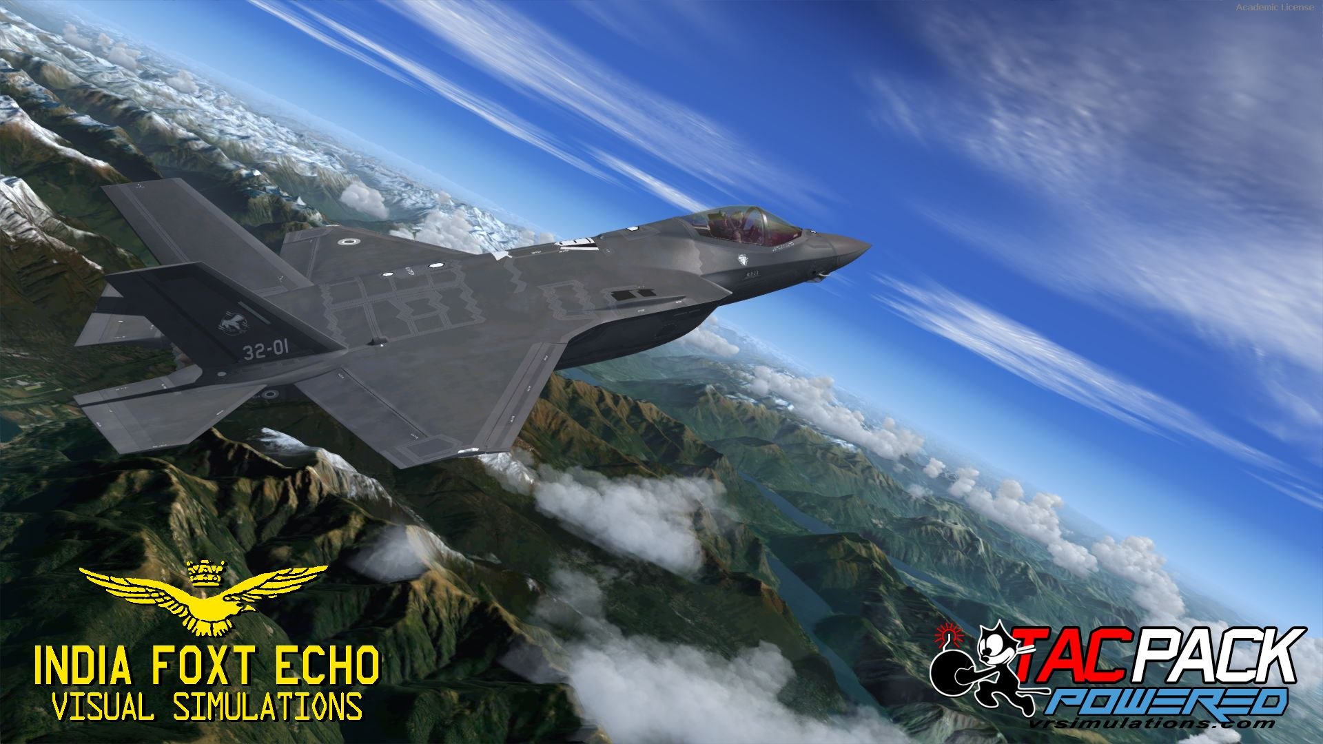 INDIAFOXTECHO - F-35 LIGHTNING II PACKAGE P3D