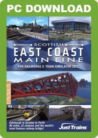 JUSTTRAINS - SCOTTISH EAST COAST MAIN LINE