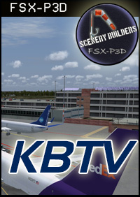 FSXCENERY -   KBTV BURLINGTON INTERNATIONAL FSX P3D