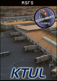 FSXCENERY - KTUL TULSA INTERNATIONAL AIRPORT MSFS