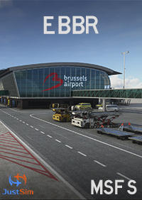 JUSTSIM - EBBR - BRUSSELS-NATIONAL AIRPORT MSFS