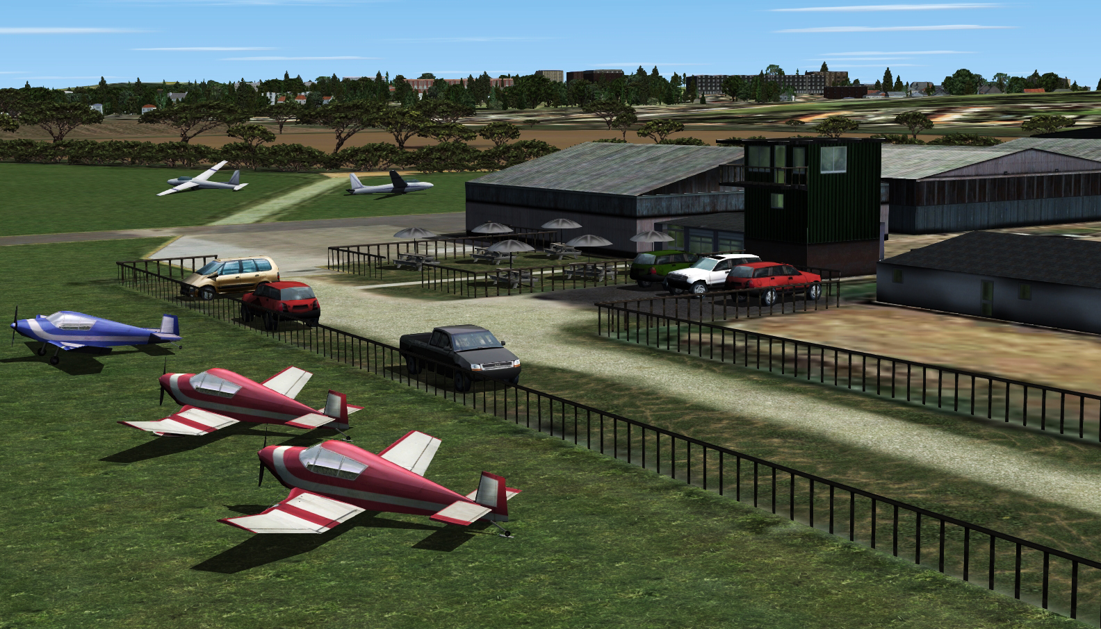 SOARFLY CONCEPTS - FLAGSHIP SANDOWN FSX P3D