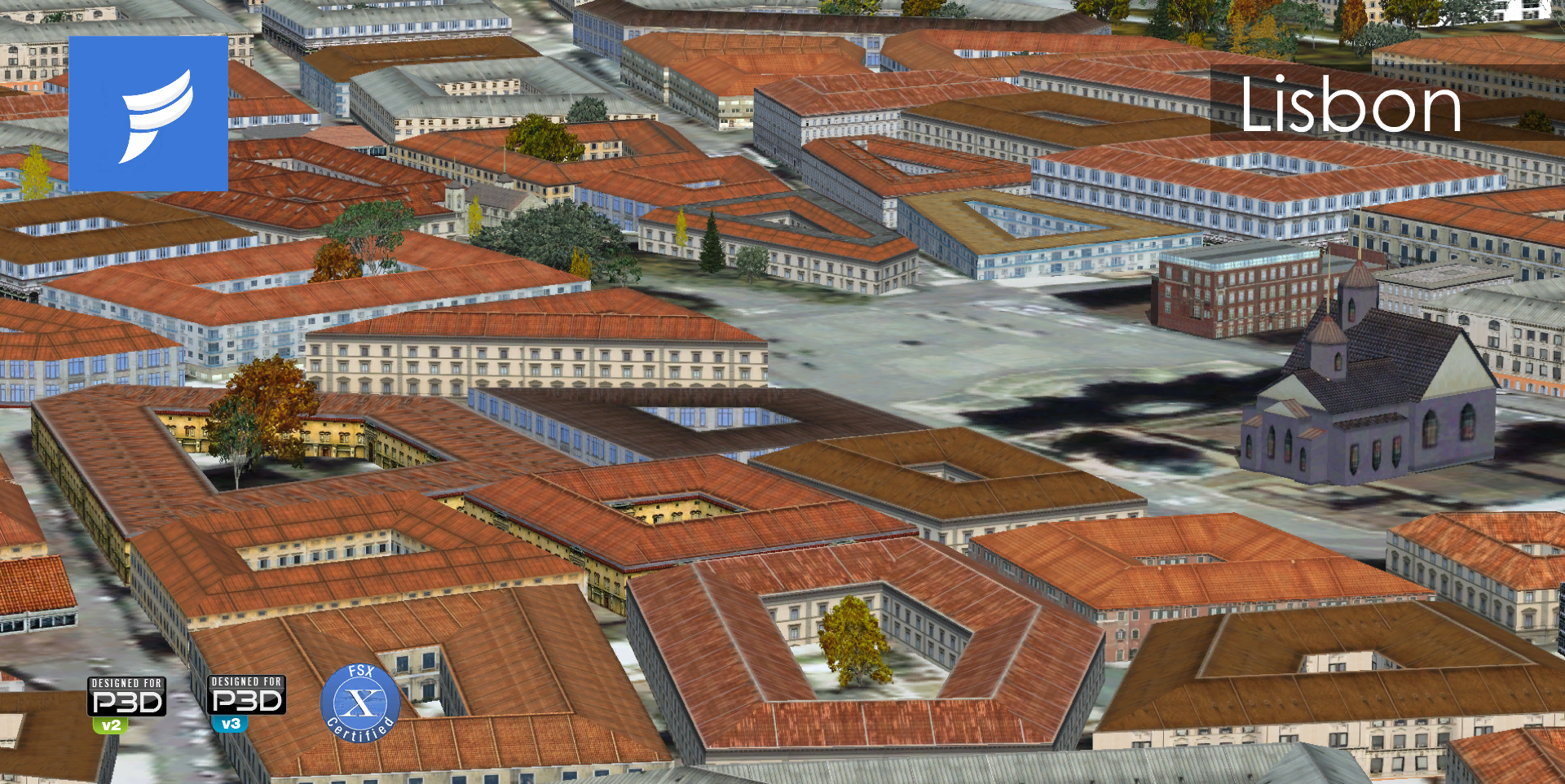 FSDP SIMULATIONS -  EUROPE ENHANCED HD FSX P3D