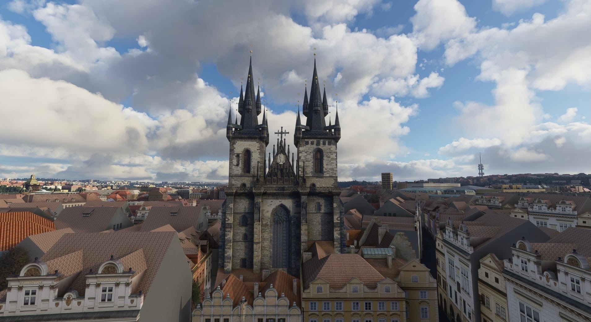 MSCENERY - PRAGUE CITY MSFS