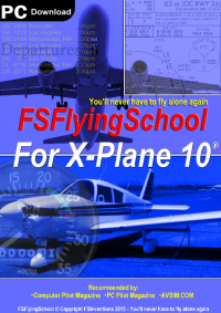 FSINVENTIONS- FSFLYINGSCHOOL FOR X-PLANE 10 MULTIPLE PLANES