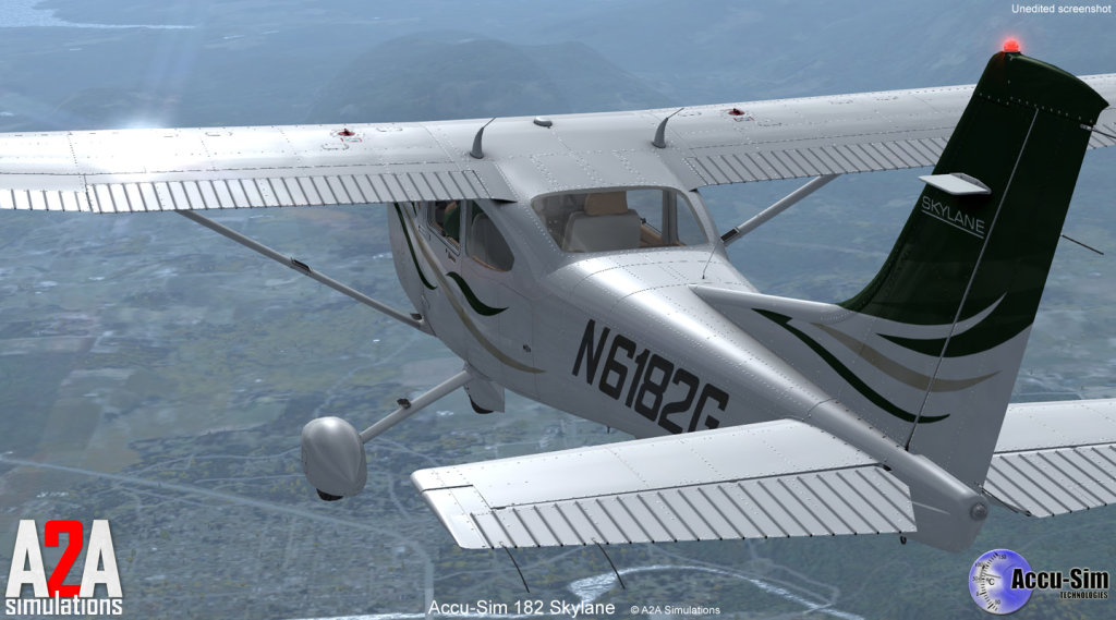 A2A SIMULATIONS - C182 SKYLANE FSX ENTERTAINMENT
