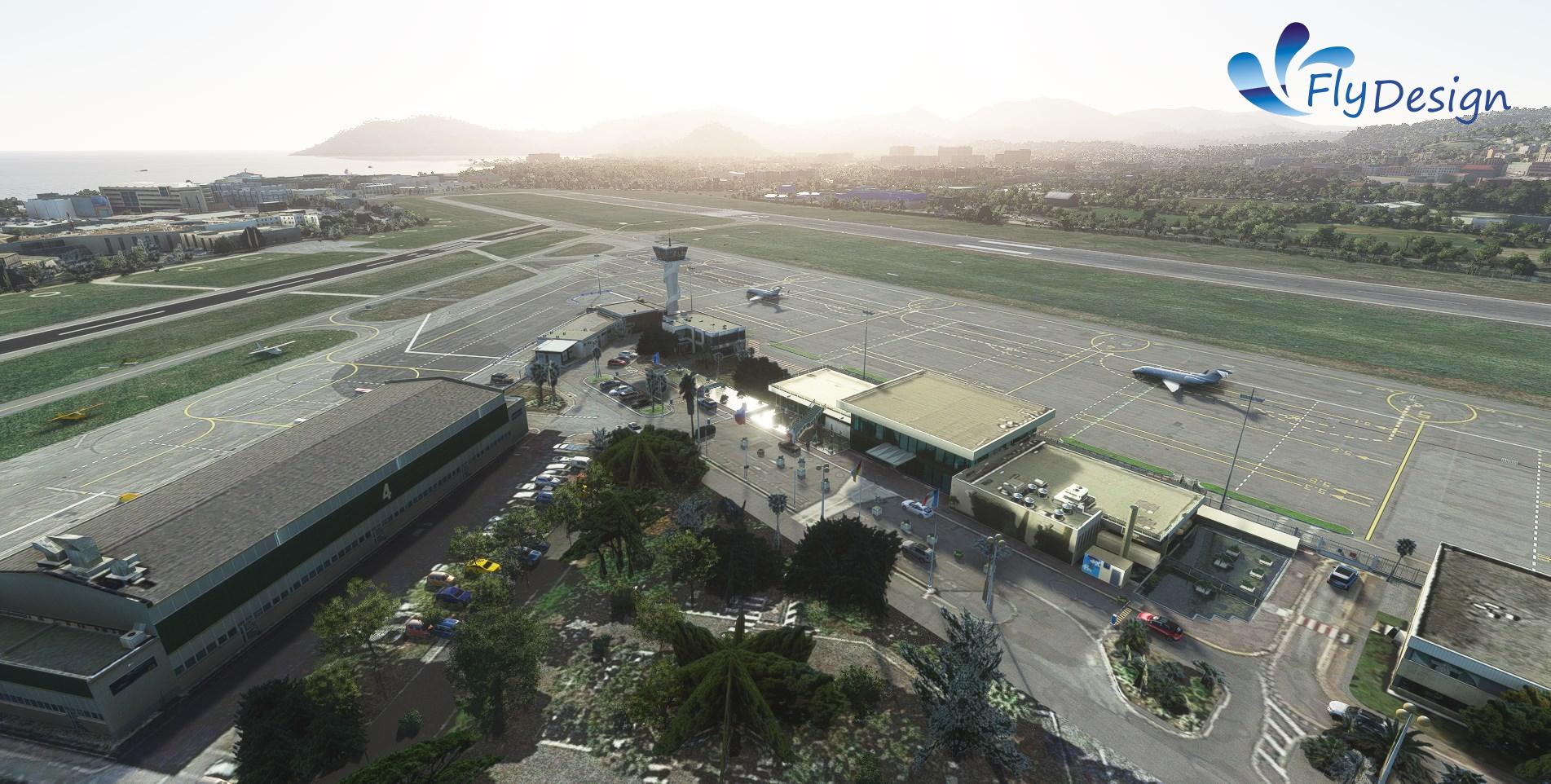FLYDESIGN - LFMD/CEQ CANNES - MANDELIEU AIRPORT MSFS