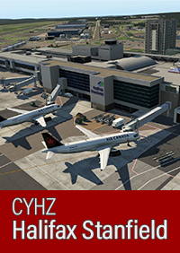 AIRFIELD CANADA - CYHZ - HALIFAX STANFIELD INTERNATIONAL AIRPORT X-PLANE 11