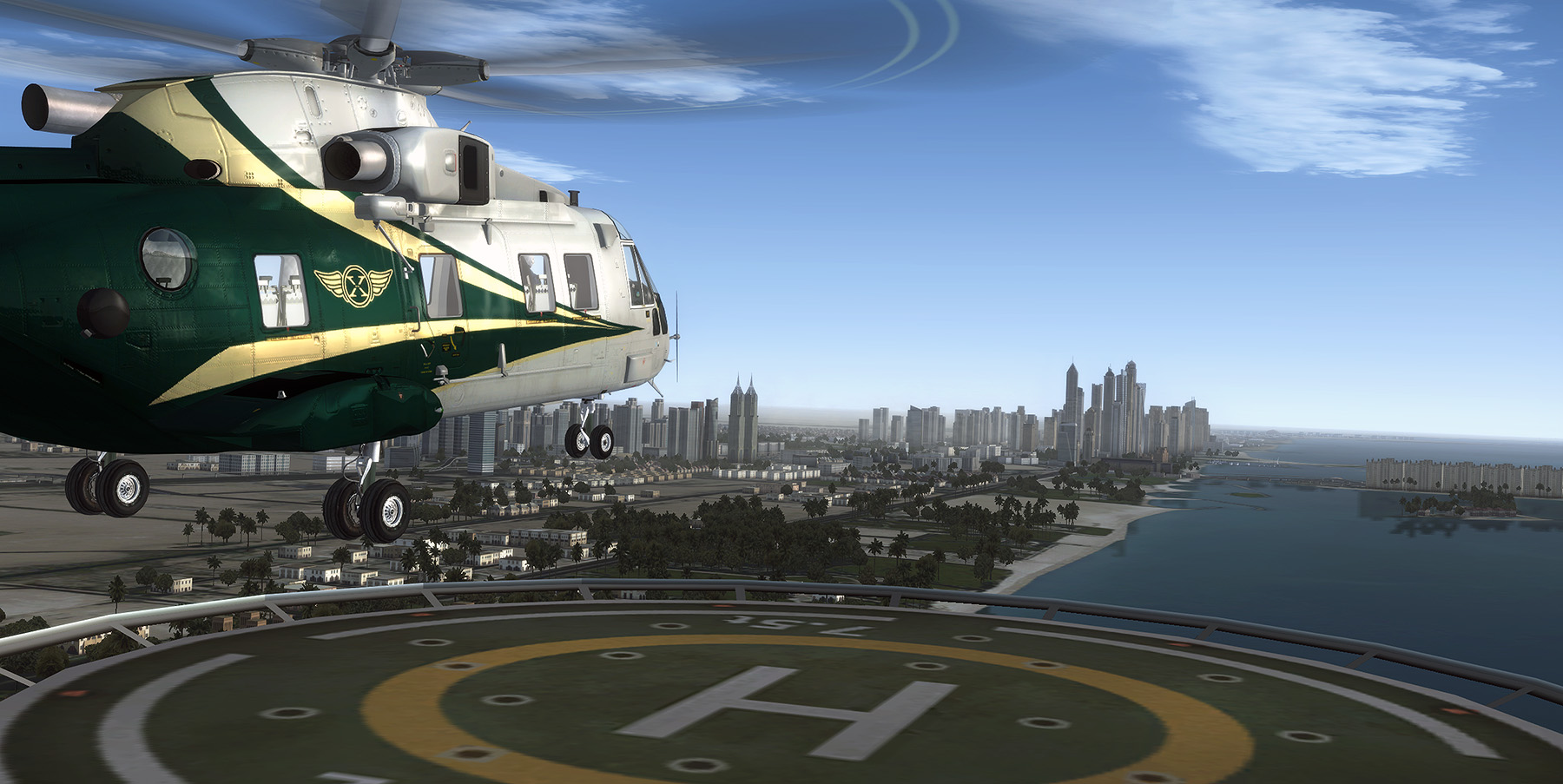 FLYTAMPA - DUBAI REBOOTED FS2004 FSX P3D3/4