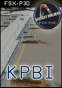 FSXCENERY -  KPBI WEST PALM BEACH FSX P3D