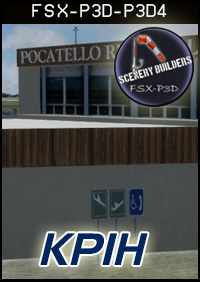 FSXCENERY -   KPIH POCATELLO REGIONAL AIRPORT FSX P3D