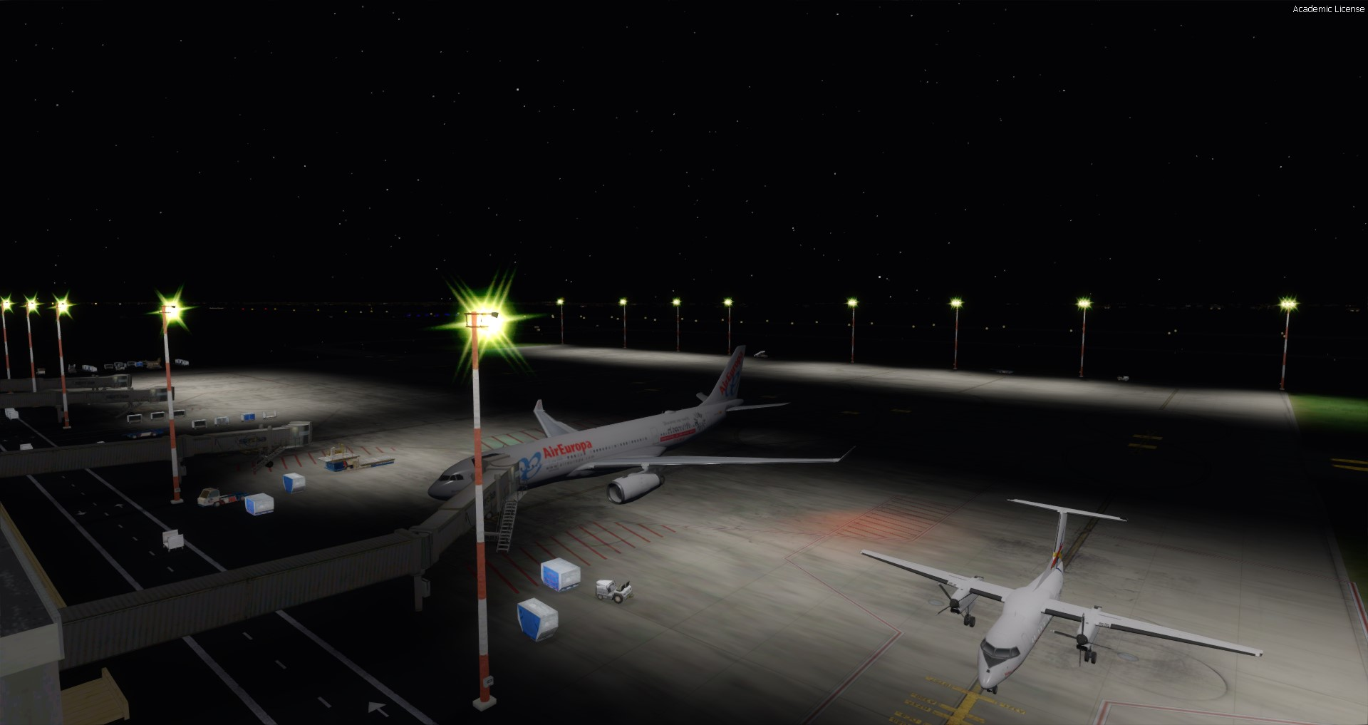 LIVING AIRPORTS - ENHANCEMENTS FOR SLVR - FSX P3D