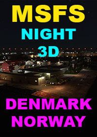 NIGHT 3D DENMARK NORWAY MSFS