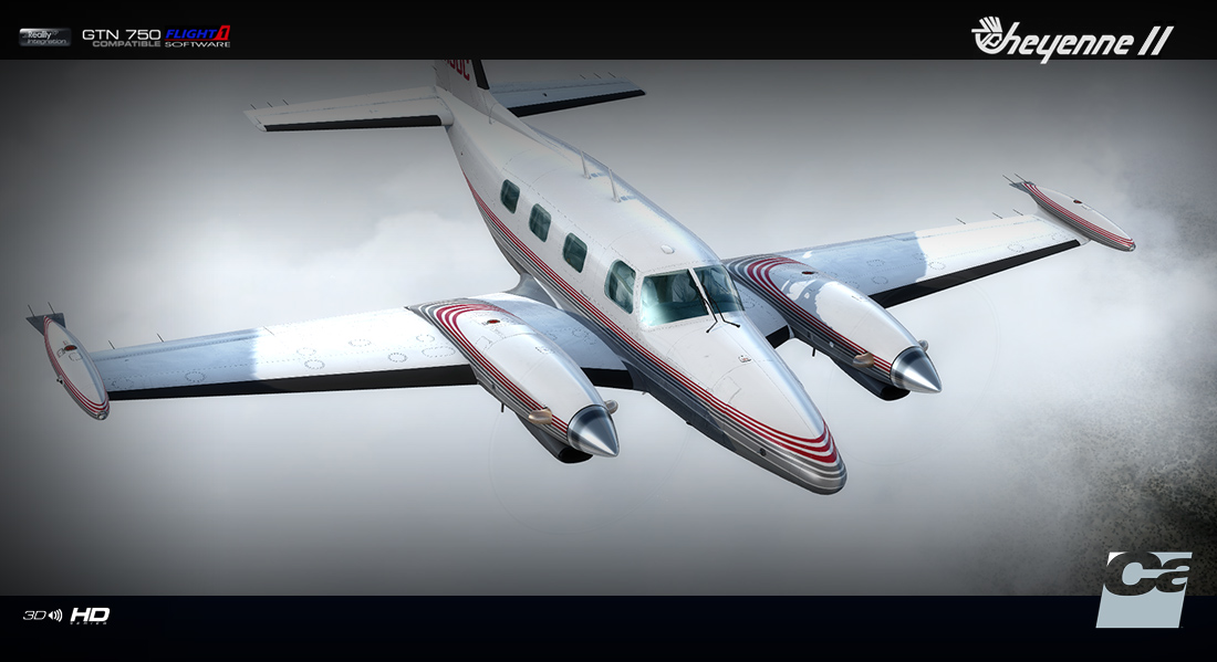 CARENADO - PA31T CHEYENNE II HD SERIES FSX P3D