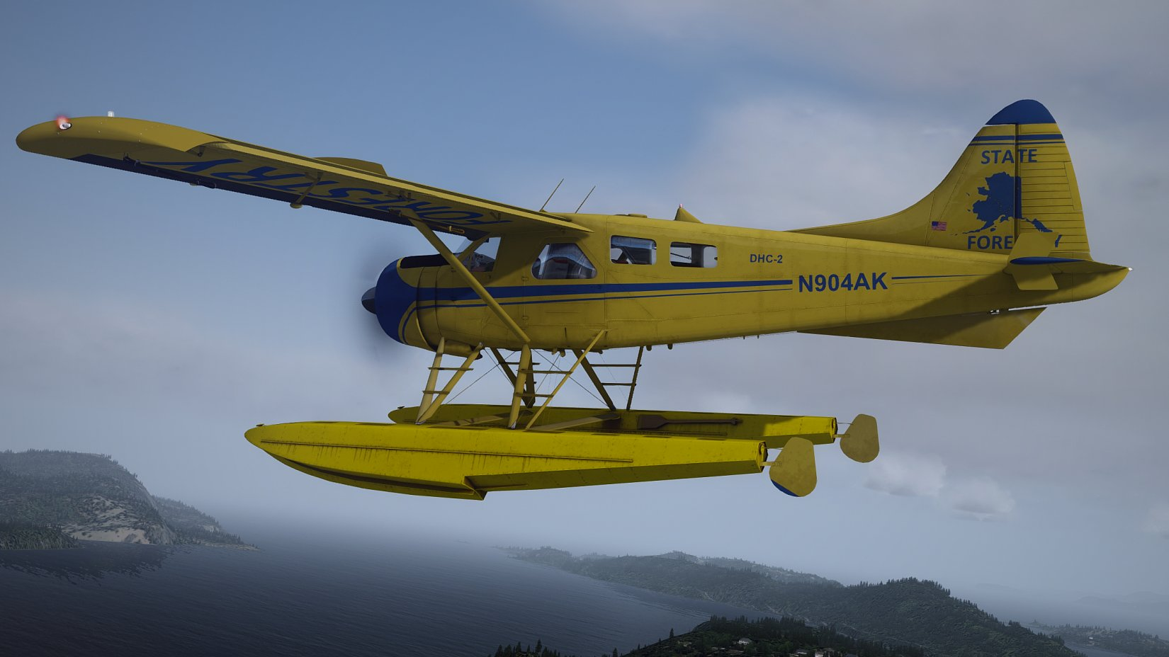 MILVIZ - DHC-2 BEAVER SPRAY N' PLAY EXPANSION PACK FSX P3D
