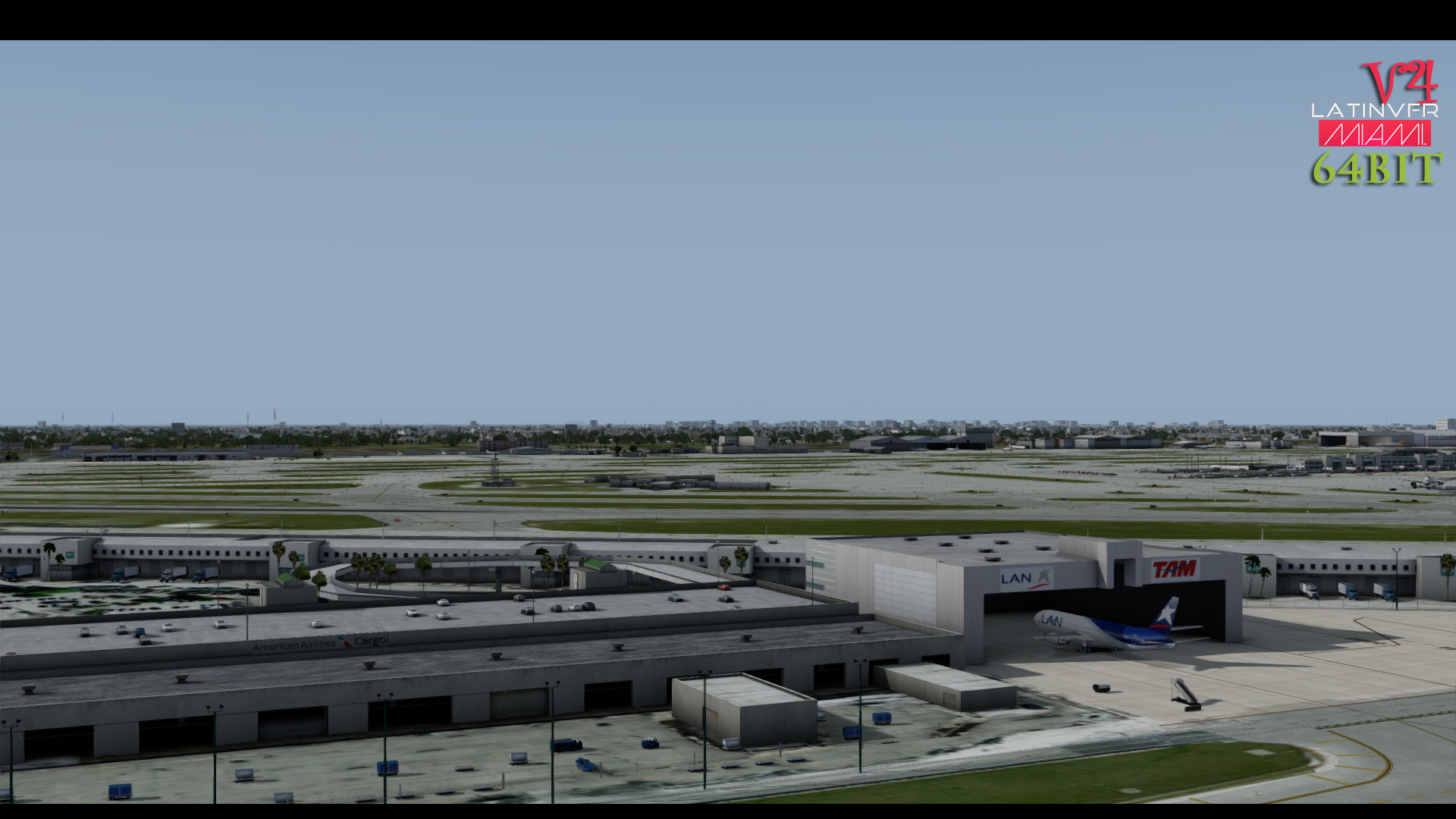 LATINVFR - MIAMI INTERNATIONAL AIRPORT KMIA V4 FSX