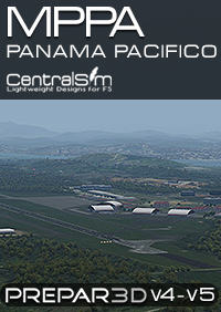 CENTRALSIM - MPPA PANAMA PACIFICO INTERNATIONAL AIRPORT P3D