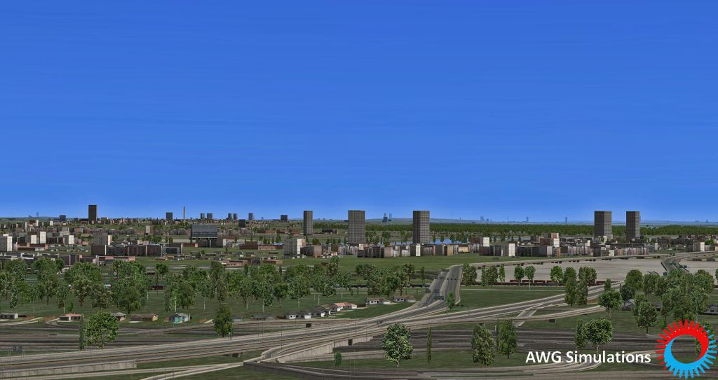 AWG SIMULATIONS - TERRAIN NORTH AMERICA XP