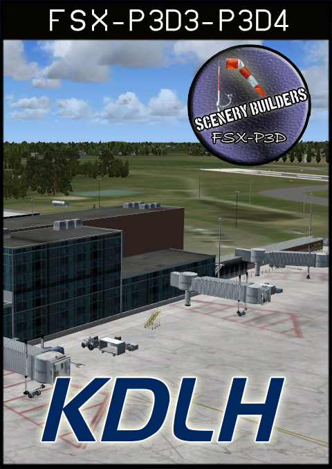 FSXCENERY -  KDLH DULUTH INTERNATIONAL AIRPORT FSX P3D