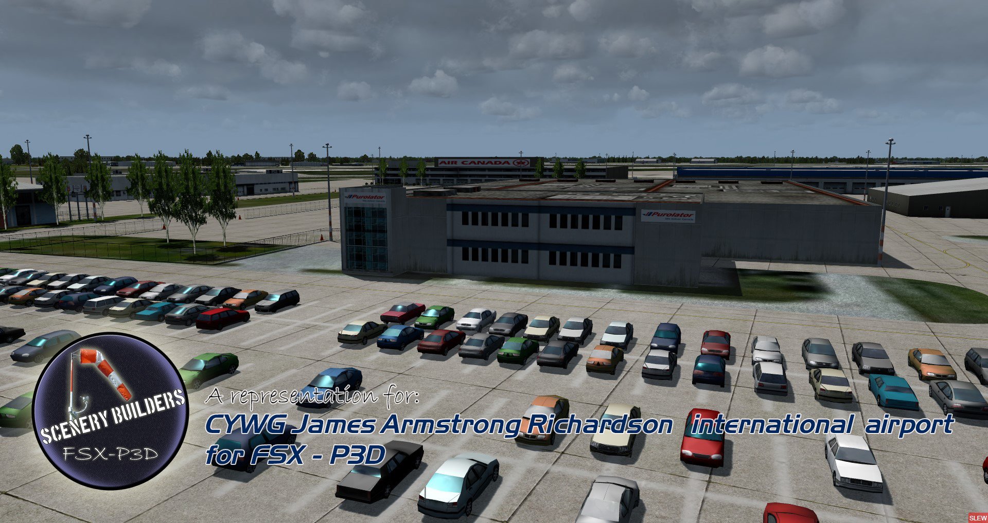 FSXCENERY - CYWG JAMES ARMSTRONG RICHARDSON INTERNATIONAL AIRPORT FSX P3D