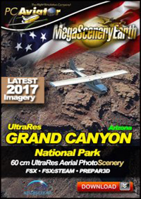 MEGASCENERYEARTH - ULTRA RES GRAND CANYON V3 FSX P3D