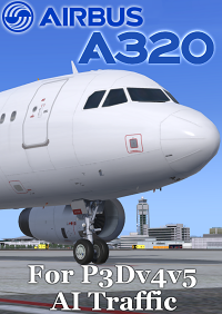 FSPXAI - AIRBUS A32X CEO FOR P3DV4&V5 AI-TRAFFIC