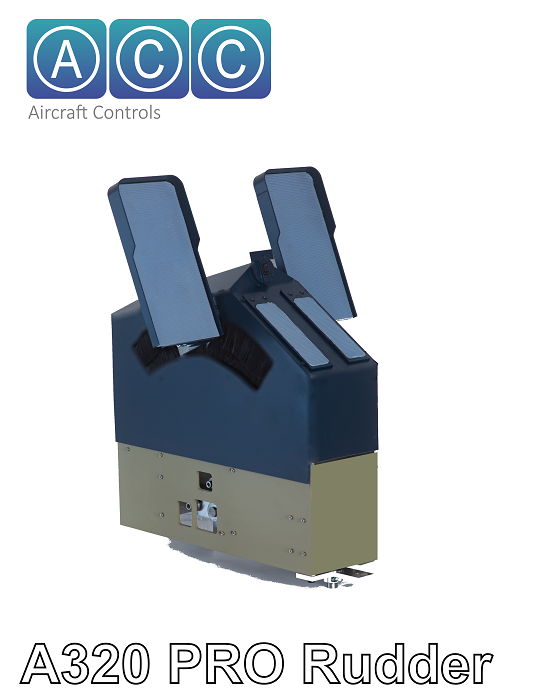 ACC AIR.CRAFT.CONTROLS. - 320PRO RUDDER PEDALS (SINGLE SEAT)