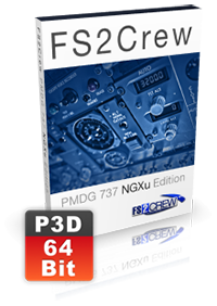 FS2CREW - PMDG 737 NGXU (VOICE AND BUTTON CONTROL) EDITION P3D