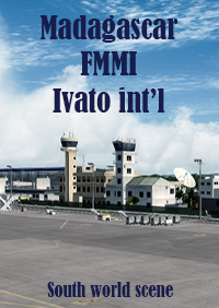 SOUTH WORLD SCENE - MADAGASCAR  FMMI  IVATO INTERNATIONAL AIRPORT P3D4