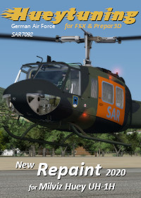 HUEYTUNING - GERMAN AIR FORCE SAR7092 FSX P3D