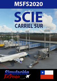 SIMULACIÓN EXTREMA - SCIE CARRIEL SUR INTERNATIONAL AIRPORT - CHILE MSFS