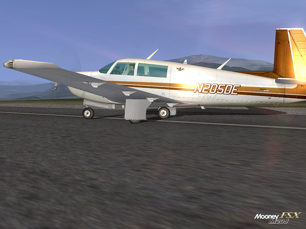 CARENADO - MOONEY 201 M20J FSX