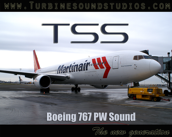TURBINE SOUND STUDIOS - BOEING 767 PW SOUNDPACK